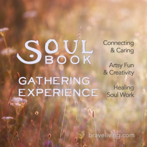 SoulBook Gathering card for Instagram 1080 x1080